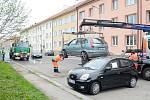Čištění chrudimských ulic pokračuje, pozor na odtahy.