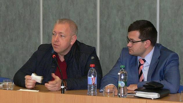 Milan Chovanec přijel na pozvání poslance Jana Chvojky.