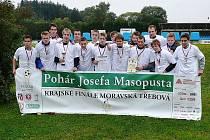 Žáci Střední školy Bohemia bojovali v krajském finále Poháru Josefa Masopusta.