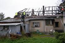 Požár, se kterým bojovali hasiči 27. září v 5.44 hodin v místní části Kameniček ve Filipově, napáchal na rodinném domku škodu za zhruba milion a půl korun.