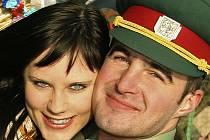 Manželé Chvojkovi ze Včelákova.