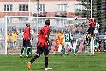Z utkání 2. kola ČFL MFK Chrudim - Bohemians Praha 1:0.