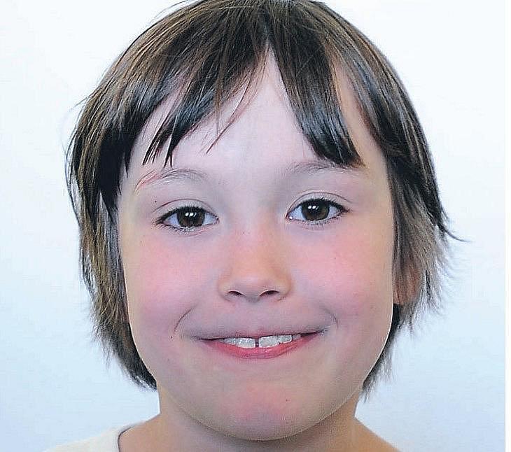 Alenka Vlasáková, 7 let, Chrudim.