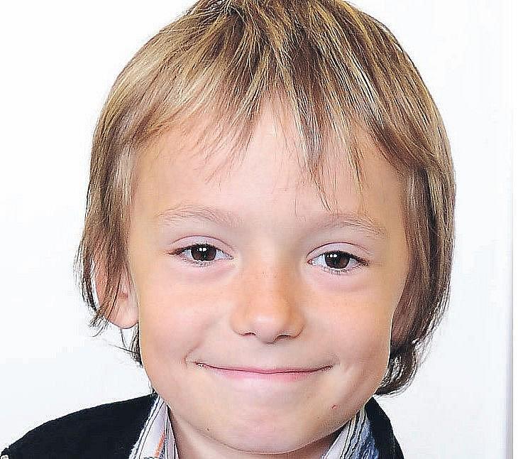 Tomáš Stryka, 8 let, Chrudim.