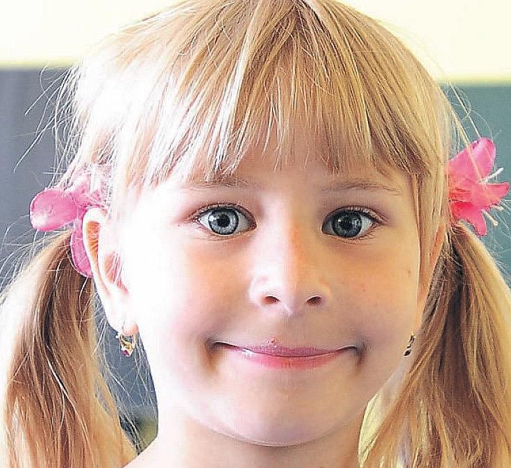 Alenka Krajánková, 7 let, Chrudim.