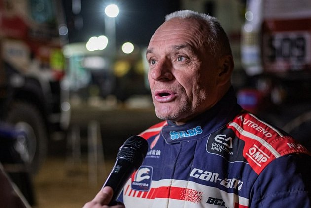Josef Macháček, vítěz Dakar 2021.
