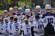 Hokejbal má v Heřmanově Městci světlou budoucnost.