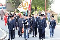 Oslavy 140 let založení chrudimských dobrovolných hasičů