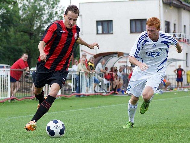 Z přípravného utkání MFK Chrudim - FK OEZ Letohrad 1:0.