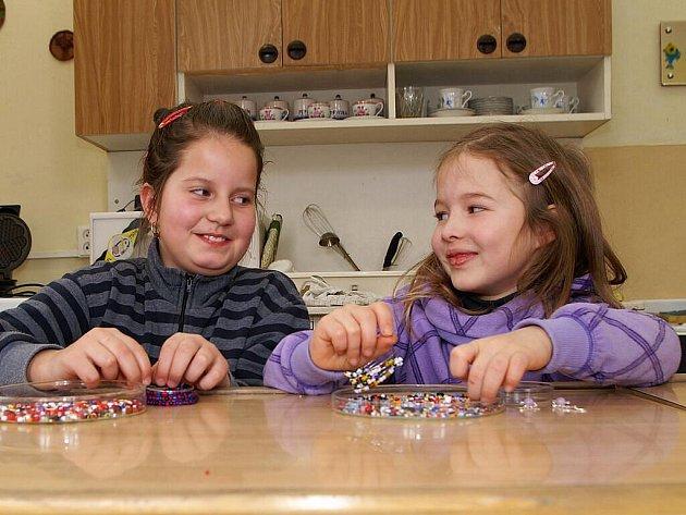 Valentýnskou prázdninovou dílnu připravili pro děti v chrudimském Domě dětí a mládeže.