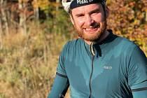 Cyklista Jakub Vlček (na snímku) se chystá na další velkou cyklistickou cestu.