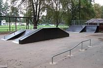 Skatepark v Heřmanově Městci.