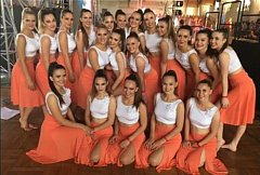 Společné foto úspěšných tanečnic
