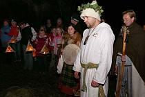 Nasavrcké sdružení Boii pořádá oslavu svátku Samhain, který je keltským novým rokem, již po několik let.