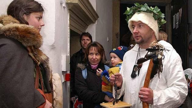 Nasavrcké sdružení Boii uspořádalo oslavu svátku Samhain, který je keltským novým rokem.