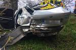 Ve voze cestovaly čtyři osoby. Jedna osoba utrpěla těžké zranění a do péče si ji ihned převzala zdravotnická záchranná služba a následně také posádka vrtulníku Letecké záchranné služby. Další tři osoby utrpěly lehčí zranění.