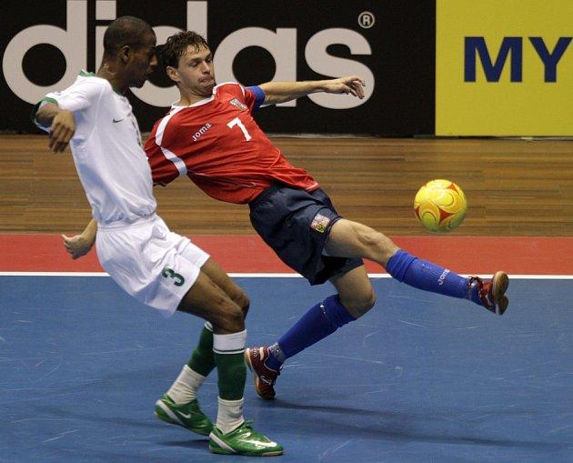 Z futsalového utkání MS 2008 v Brazílii Česko - Libye 4:2.