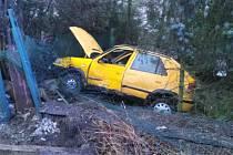 Středeční nehoda v Přibylově u Skutče