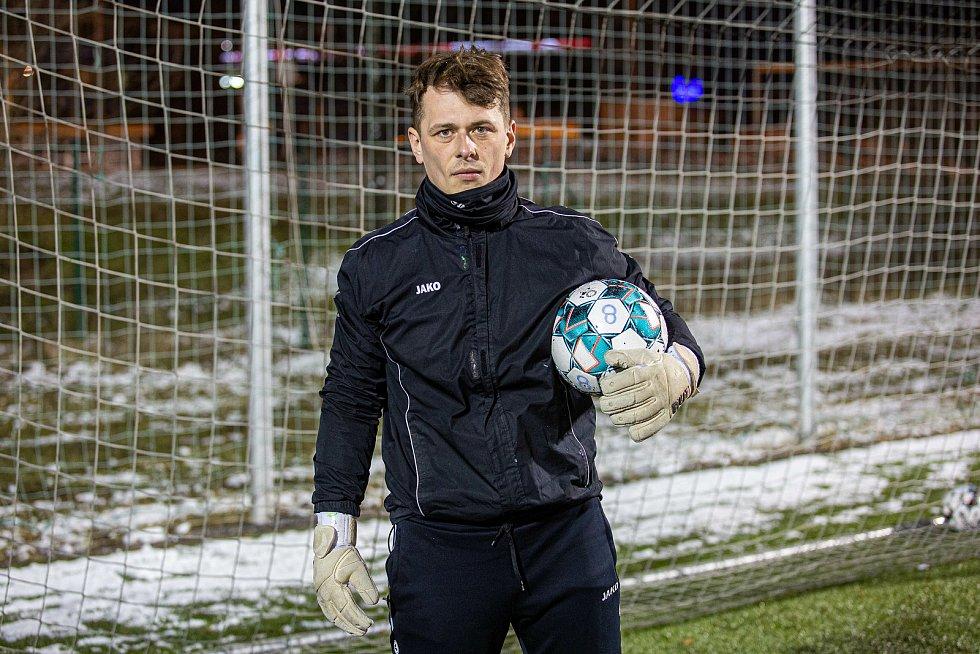 Trénink fotbalistů MFK Chrudim.