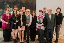 Z předávání cen pro dobrovolníky Křesadlo za rok 2014.