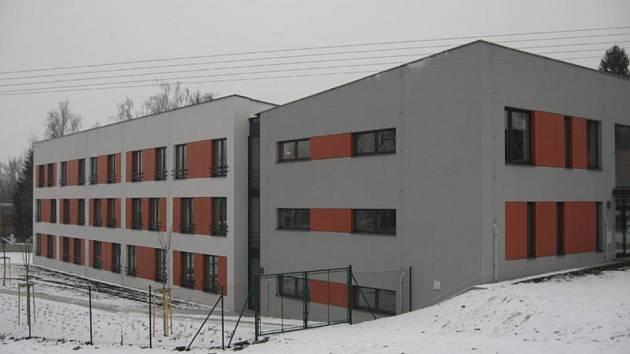 Azylový dům v Chrudimi.