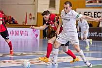 1. finále play-off CHANCE futsal ligy FK ERA-PACK Chrudim - FC Benago Zruč nad Sázaou