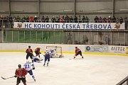 Ze čtvrtého utkání semifinálové série play off Č. Třebová - Chrudim 5:4 PP  (0:1, 3:1, 1:2 1:0)