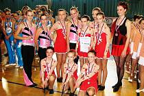 Mažoretky z Ronda se zúčastnily poslední soutěže letošního šampionátu Mistrovství České republiky mažoretek