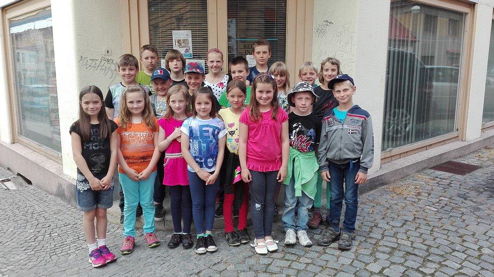 Žáci morašické základní školy