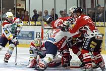 Chrudimští hokejisté změřili v dalším přípravném utkání síly s extraligovým Moellerem Pardubice.