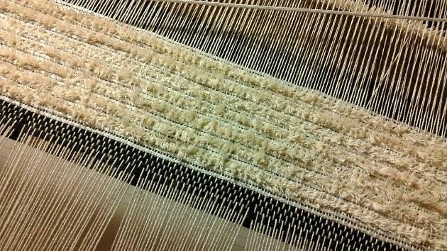 Žinylkové textilie z Hlinska jsou evropským unikátem