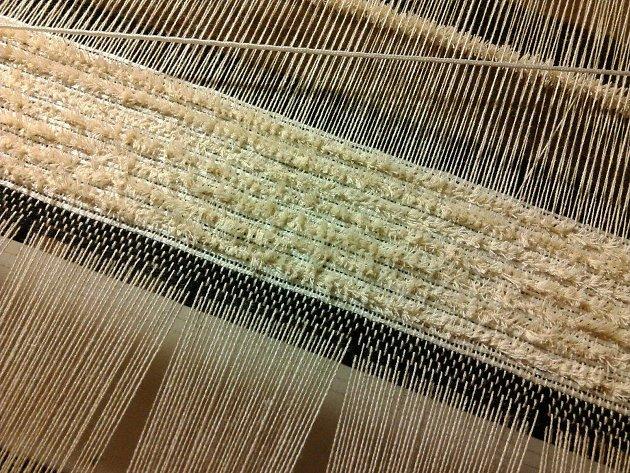 Žinylkové textilie zHlinska jsou evropským unikátem