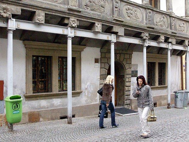 Mydlářovský dům v Chrudimi.