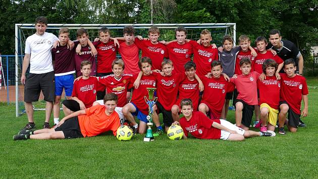 Turnaj v italském Lido di Jesolo ovládla kategorie U13 chrudimského MFK
