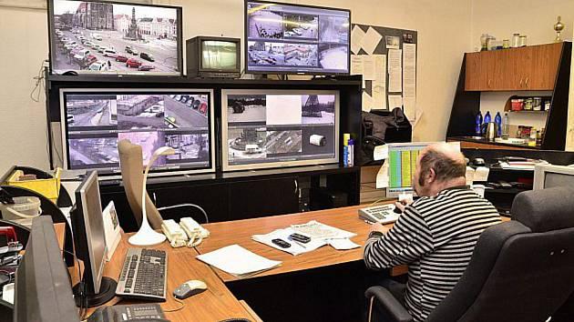 Monitory Městské policie Chrudim. Ilustrační foto: Deník/Marek Nečina