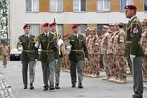 Chrudimští vojáci jsou na střídání v Afghánistánu připraveni.