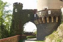 Kouzelná zákoutí zámku Žleby.