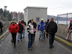 Návštěvníci si mohli u příležitosti Dne vody prohlédnout Sečskou přehradu.