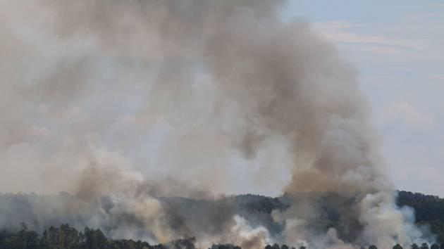 U Heřmanic hořelo, už podruhé.