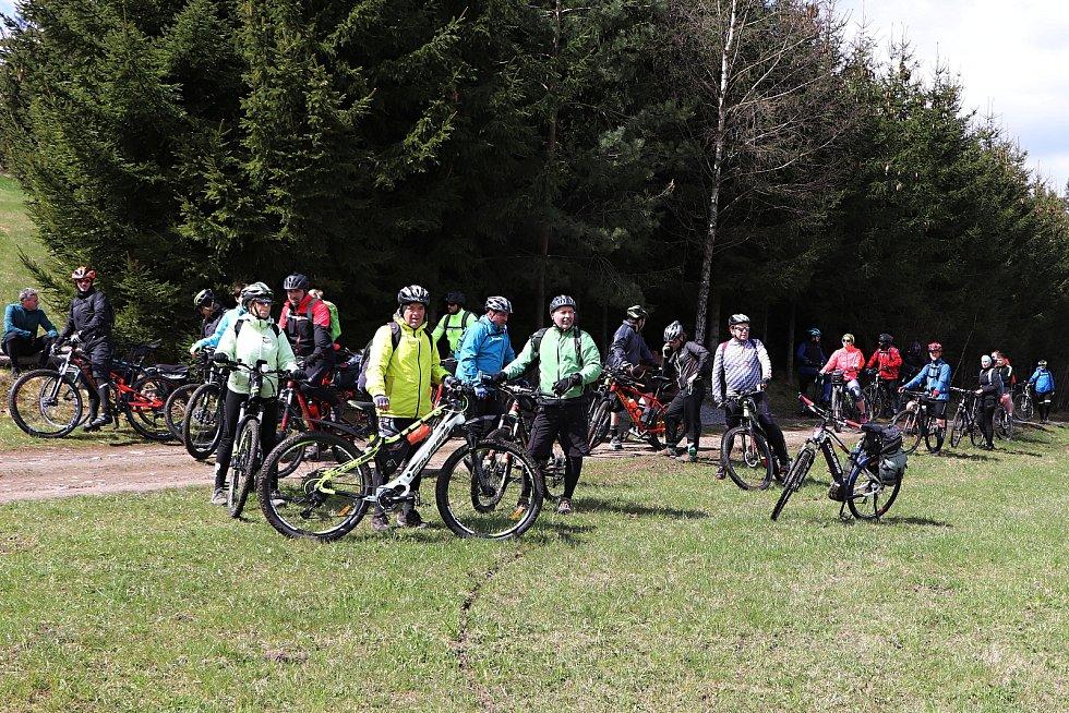 Ronovští skauti uspořádali cyklovýlet