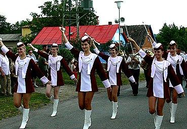 Oslavy hasičského výročí v Příkrakově.