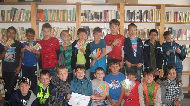 Čtenářský maraton v třemošnické knihovně.