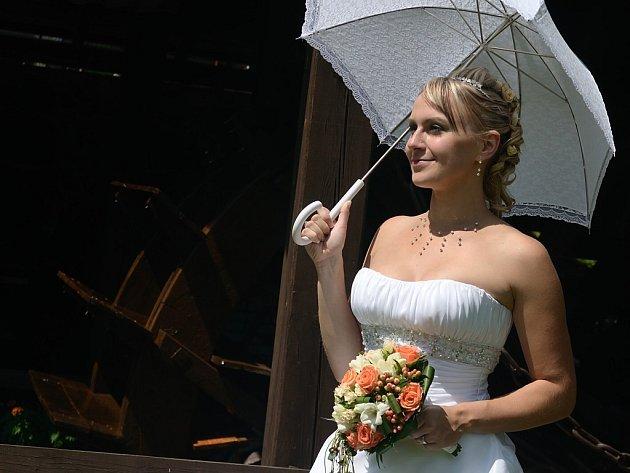 """Sympatická sečská zastupitelka vloni únorové narozeniny """"neměla"""", zato se ale v polovině července vdala."""