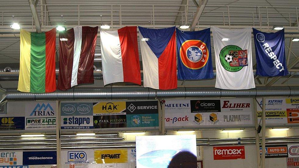 Zahájení UEFA Futsal Cupu.