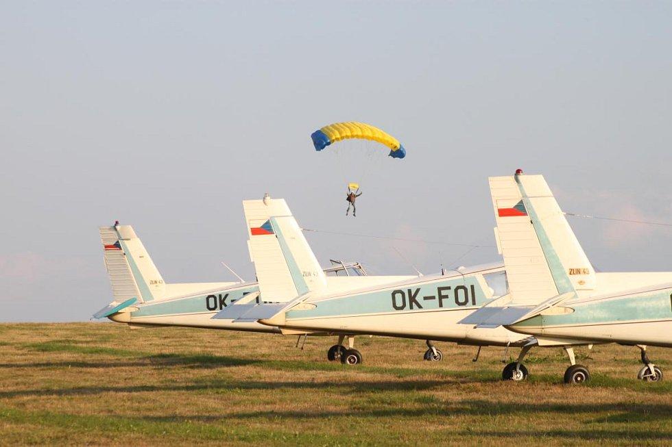 Charitativní akce Aeroklubu Skuteč