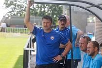 Trenér Pavel Jirousek.