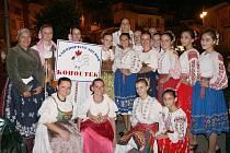 Folklórní soubor Kouhoutek zatančil v Itálii.