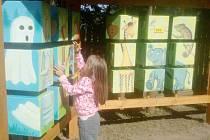 Kostky u Švýcárny se dětem moc líbí
