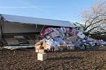 Škody na kamionu se odhadují na 2,5 milionu