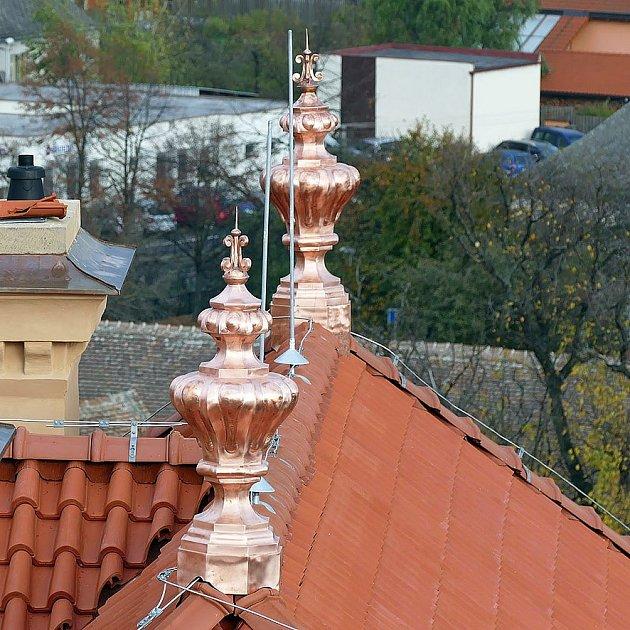Detaily na střeše Muzea